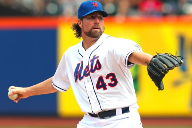 R.A. Dickey: Mets and Blue Jays Reportedly Agree in Principle to Trade