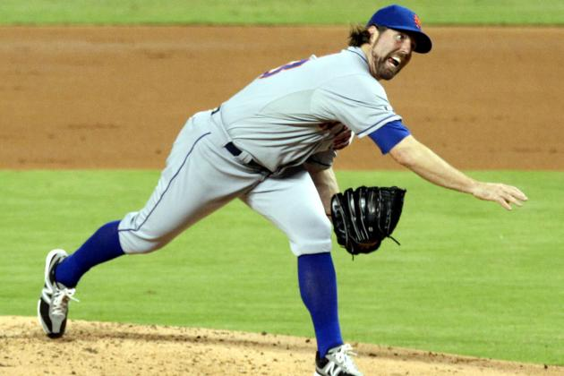 Will Blue Jays' Rogers Centre Hurt R.A. Dickey's Unhittable Knuckleball?