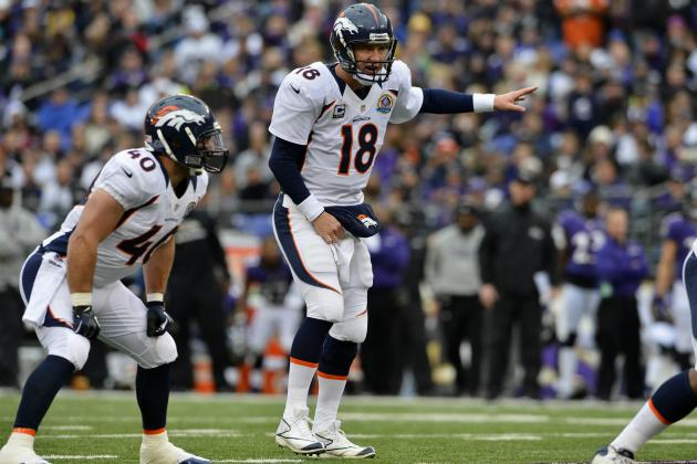 Peyton Manning: Where Broncos QB Stands in MVP Race After Sunday's Win