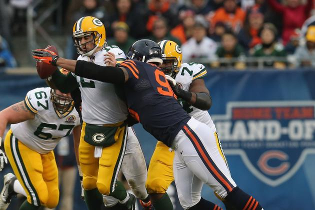 Packers vs Bears: Refs, Pathetic Bears Offense and Aaron Rodgers Key Bears Loss