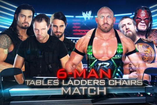 WWE TLC 2012: Ryback and Team Hell No Defeat the Shield on Supershow