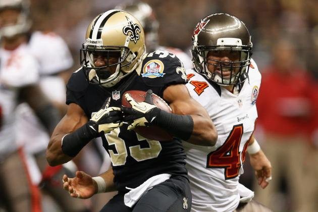 Game Balls for Saints in 41-Point Rout