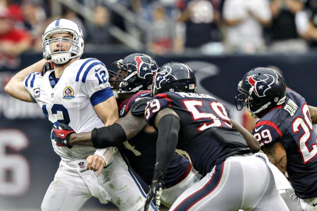 Mistakes Doom Colts in 29-17 Loss at Houston