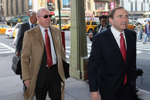 NHL Lockout 2012: Threat of Voided Contracts Shows How Bad Talks Have Gotten