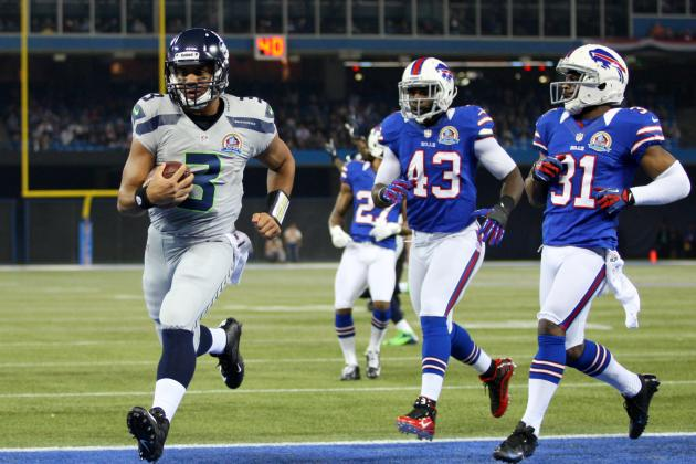 What Are Fans, Media Saying About Russell Wilson, Seahawks' Domination of Bills?