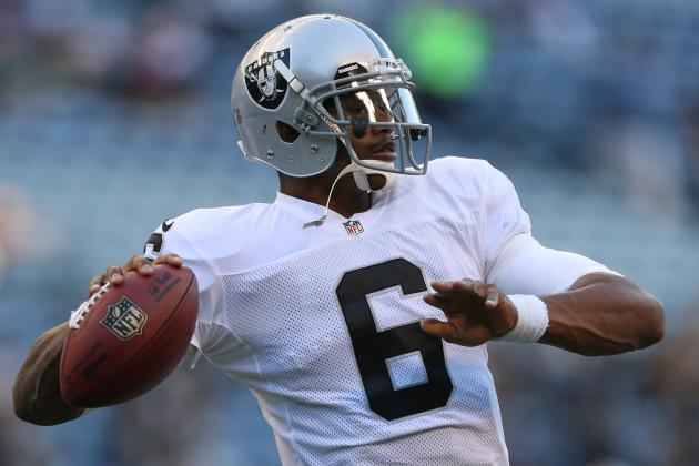 Twitter Reacts to Terrelle Pryor's First 2012 Action for Oakland Raiders