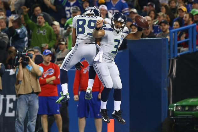 Wilson Paces Seahawks in Blowout of Bills