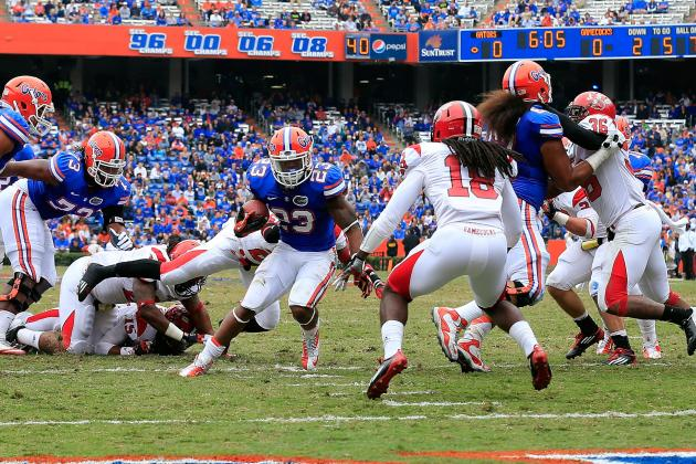 Florida Football: Predicting Who Will Lead the Gators in Rushing in 2013