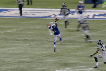 Watch Stevie Johnson's Sick Catch vs. Seahawks