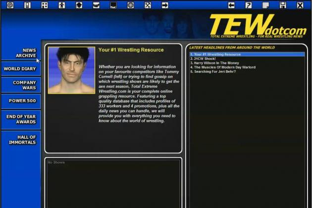 TEW 13: Review and Impressions for Newest Edition for Total Extreme Wrestling
