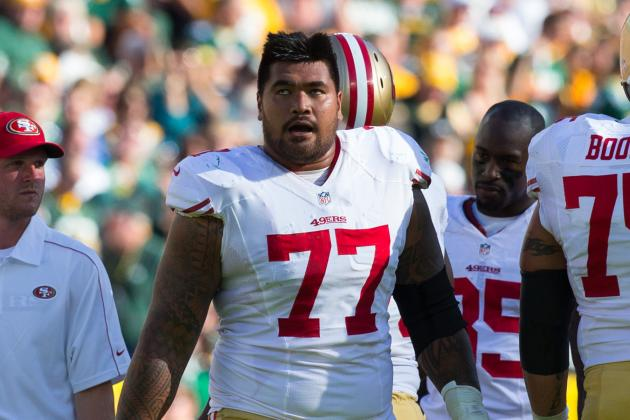 OL Mike Iupati Questionable to Return