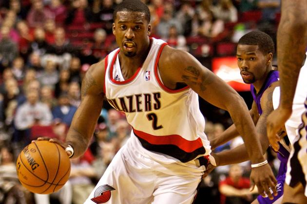 Wesley Matthews out for Remainder of Game