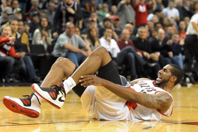 LaMarcus Aldridge: Updates on Trail Blazers Forward's Ankle Injury