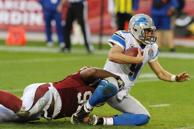 Detroit Lions: Matthew Stafford's Regression Has Been as Bad as Team's