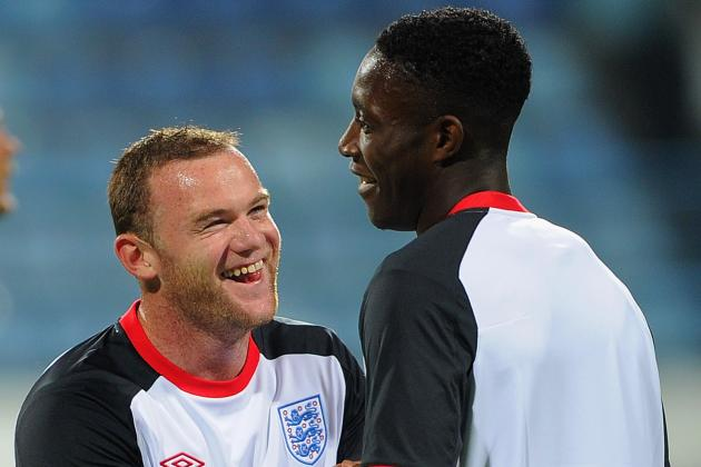 Danny Welbeck Must Partner Manchester United Teammate Wayne Rooney for England