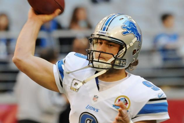 Teammates Won't Let Lions QB Matthew Stafford Take the Blame