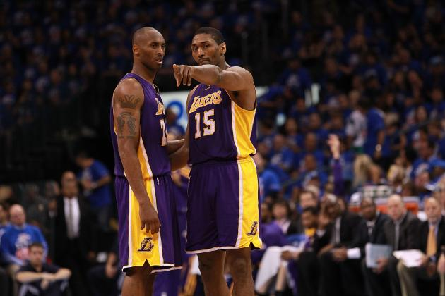 Metta World Peace Says 'Kobe Show' Is Not Good for the Lakers