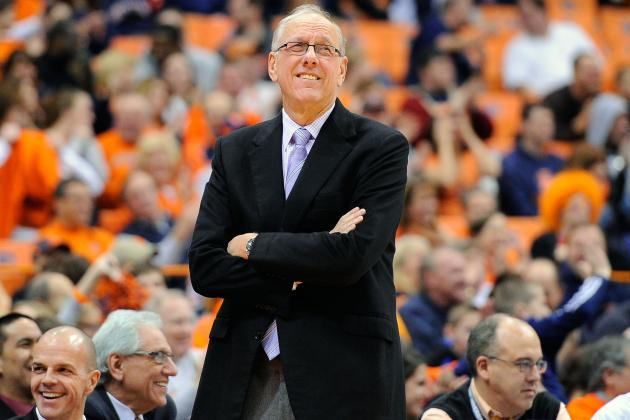 Syracuse's Jim Boeheim 1 Away from 900 Wins