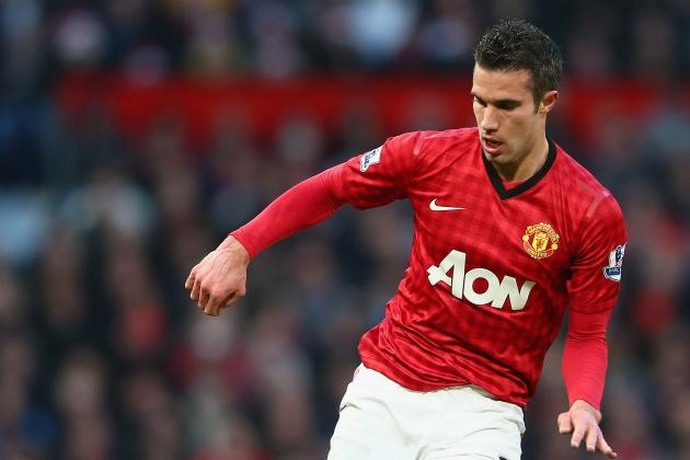 Robin van Persie: Is Manchester United's Striker Their Version of Lionel Messi?
