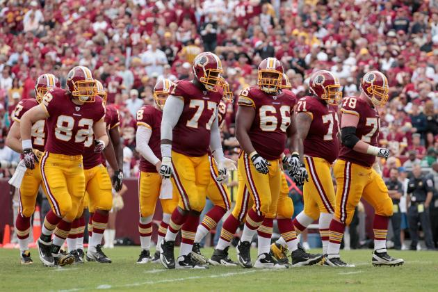Injuries Suddenly Piling Up on Redskins' Offensive Line