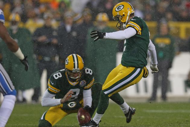 Packers' Mason Crosby Is Here for the Season, Folks & More NFC North News