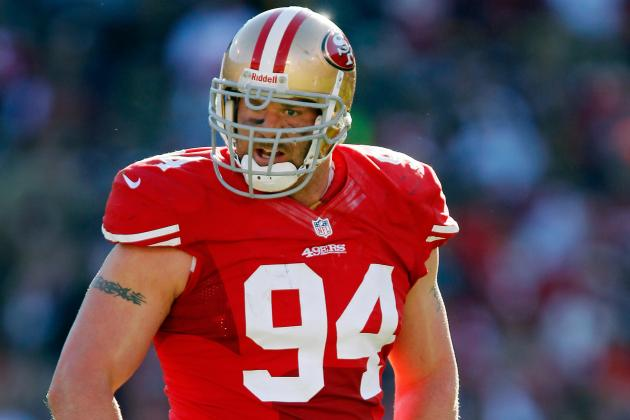 Justin Smith Scheduled for MRI on Left Elbow Today and More NFC West News