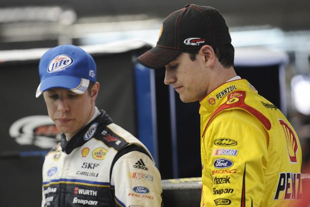 Joey Logano Primed for 2013 with Penske