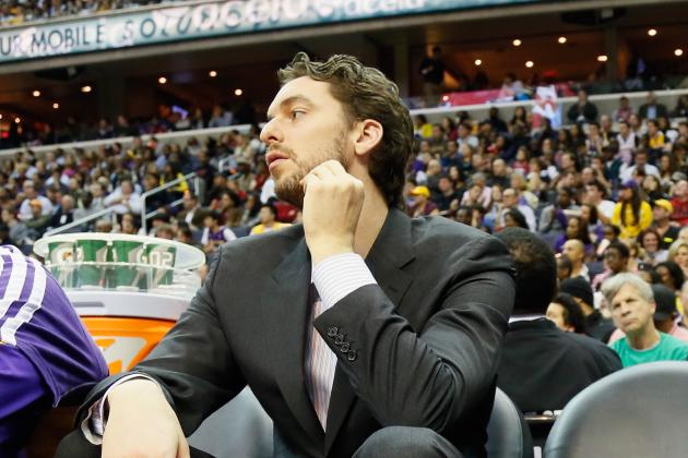 Pau Gasol Likely to Return to Lakers Lineup Next Week