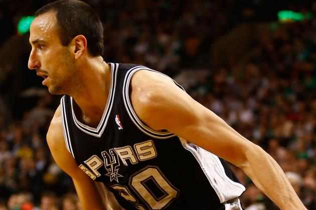 Manu Ginobili Injury Update