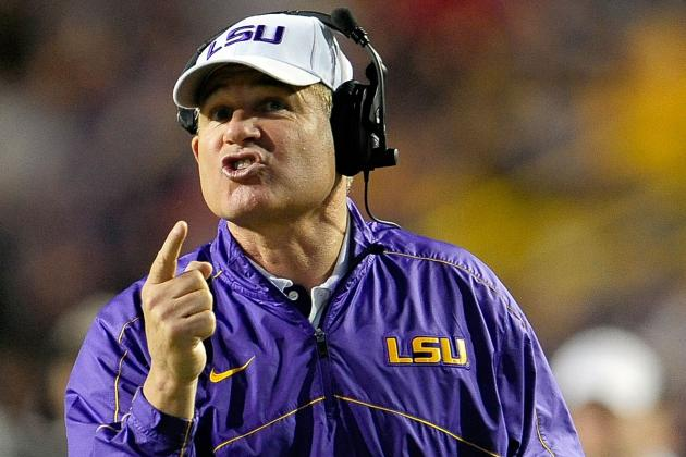 Les Miles: LSU Striving 'to Be One of the Best Teams in College Football'