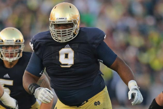 Top Irish Linemen Martin, Nix Won't Enter Draft