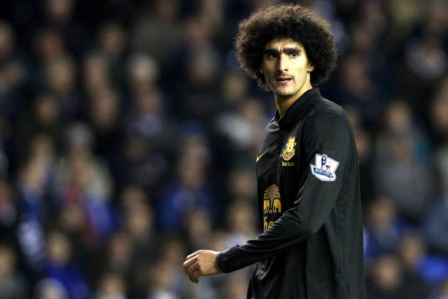 Marouane Fellaini: Will Thuggery at Stoke Damage His Chances of a Big Club Move?