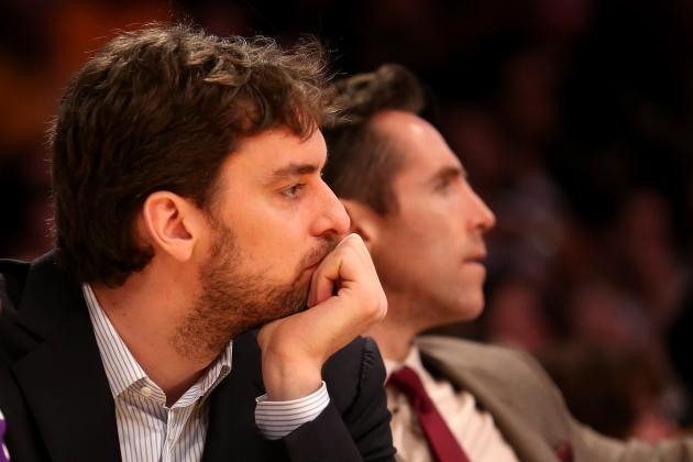 Report: Pau Gasol to Return to Practice, Return Targeted for Tuesday