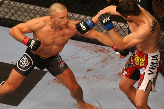 GSP Talks Diaz Fight at UFC 158, Anderson Silva, Johny Hendricks