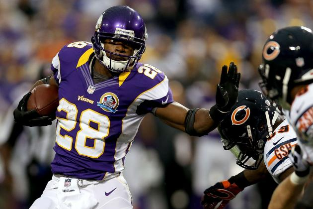 If Adrian Peterson Breaks Eric Dickerson's Record, Where Will He Rank All-Time?