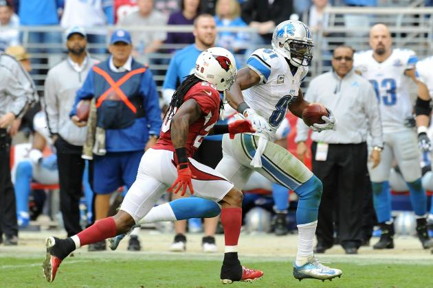 2012 Fantasy Football Wide Receiver Rankings: NFL Week 16