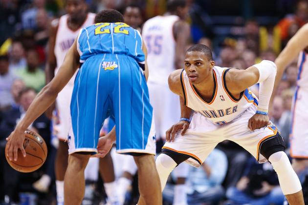 Russell Westbrook Making Bid for All-Defensive Team