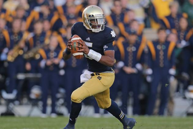 Notre Dame Football: Everett Golson Is Key to Irish Success in 2013