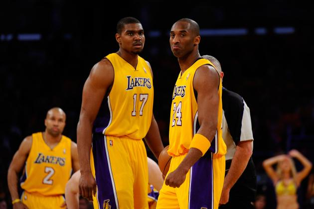 Andrew Bynum Claiming Kobe Bryant Stunted His Development Is Flat out False