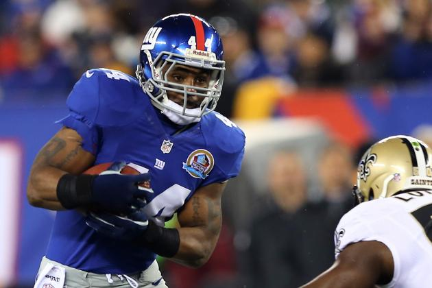 Ahmad Bradshaw Plans to Return Vs.Ravens