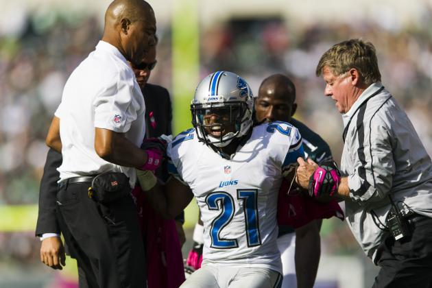 Lions Cornerback Jacob Lacey Could Have 'Significant' Injury