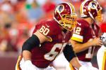 Redskins' O-Lineman Suspended 4 Games for PEDs