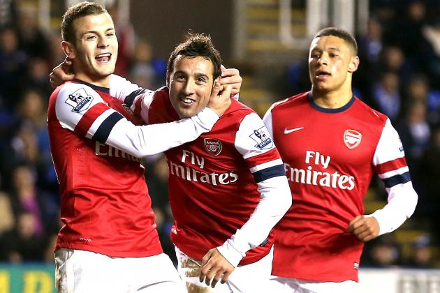 Reading 2-5 Arsenal: Santi Cazorla Hits Hattrick in Madejski Thriller