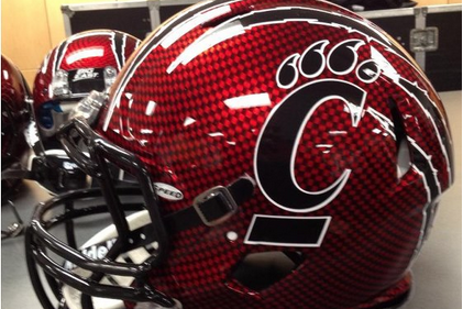 Cincy's New Bowl Helmets