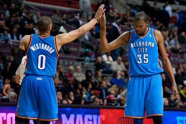 Kevin Durant and Russell Westbrook Are Officially the Best 1-2 Punch in the NBA