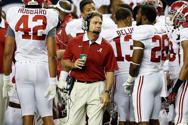 Nick Saban on Future at Alabama: 'I Don't Really Think It's Fair to Leave'