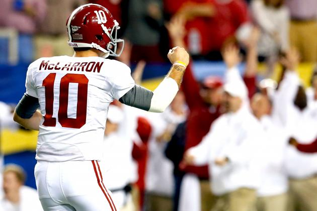 Why the Alabama Crimson Tide Will Be the SEC Favorite in 2013