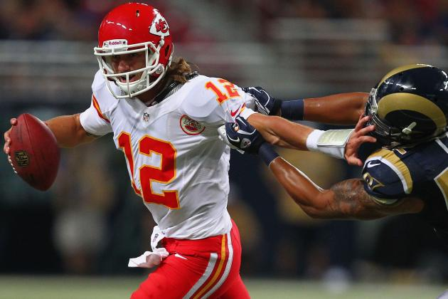 "Ricky Stanzi Starting a ""Possibility"" for Chiefs"