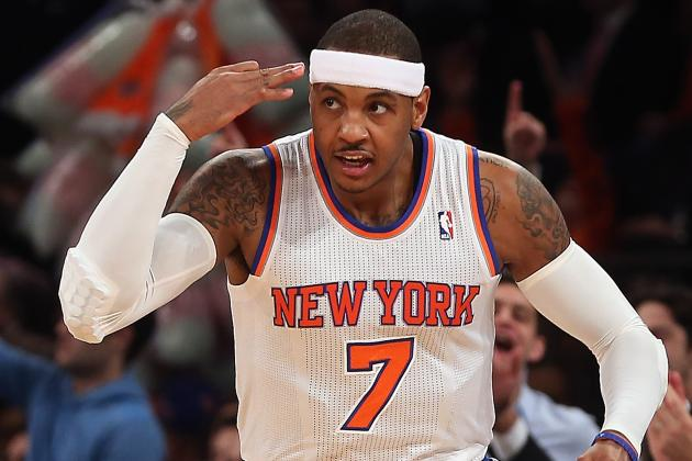Carmelo Anthony Blossoming for NY Knicks After Embracing Leadership Role