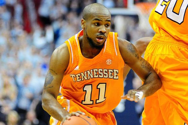Tennessee's Golden, Auburn's Price Named SEC Basketball Players of the Week